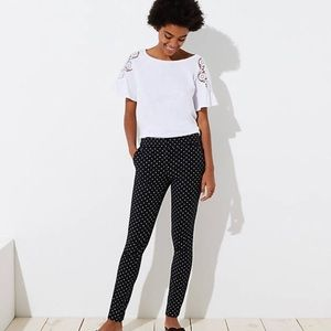 Loft Polka Dot Dress Pants